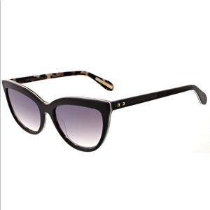 NWT BCBGMaxAzria Brown/Leopard Cat Eye Sunglasses